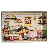 Anabei DIY choza de cristal de la casa de la serie pastel de novia T-003 DIY casa de madera regalo creativo