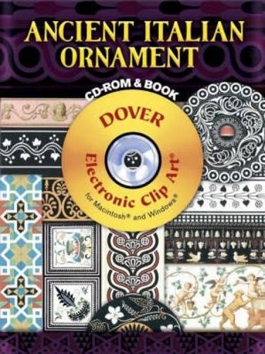 Compare Textbook Prices for Ancient Italian Ornament CD-ROM and Book Dover Electronic Clip Art Cdr/Pap Edition ISBN 9780486998640 by Wilhelm Zahn