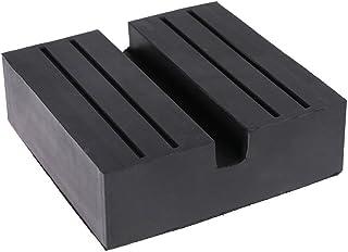 Haven Shop Quadratische Universal Gummiauflage für Wagenheber, Reparatur, Schlitz, Bodenheberschutz, Rahmenschienenschutz für Wagenheberschutz, Autoreparatur ist ein guter Helfer.