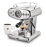 illy X1 Espresso Machine, 13 x 9.8 x 10.60, Stainless