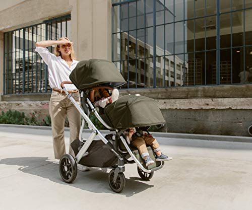UPPAbaby VISTA V2 Stroller - JORDAN (charcoal/silver/black leather)