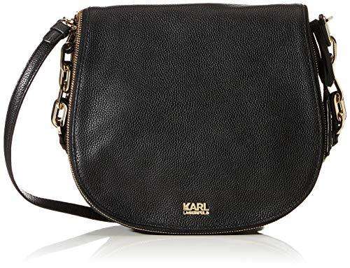 Karl Lagerfeld , Sac pour femme à porter à l'épaule noir noir