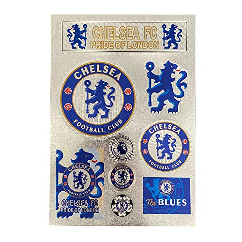 Football Club Soccer Team Logo Stickers Car/Glass/Laptop/Wall Sticker Decal (Chelsea , 7.811.8inch)