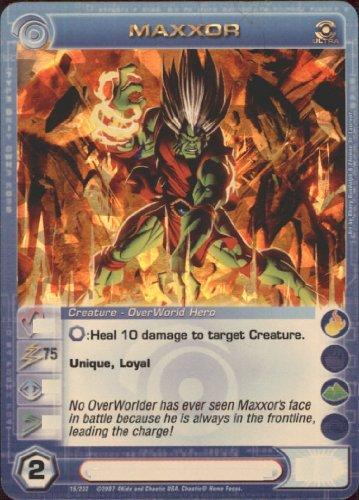MAXXOR Chaotic Premium Edition Season 1 Ultra Rare Gold Foil Card & Unused Code (MAX STRENGTH 75)