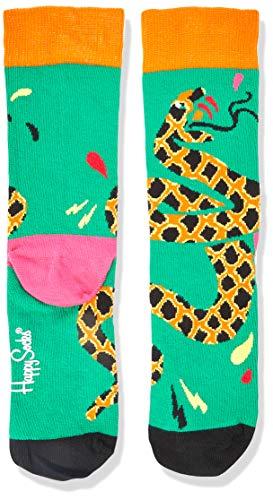 Happy Socks Meias Tropical Snake Sock 36 - TRS01-7300-36