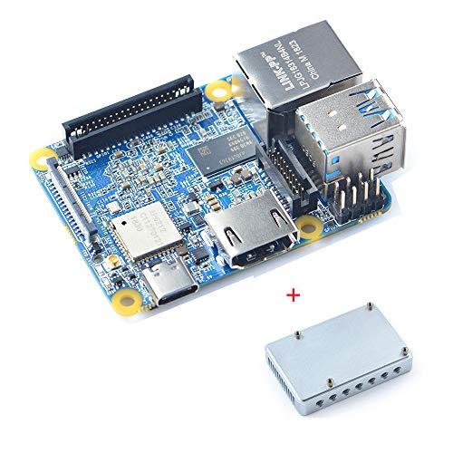 youyeetoo NanoPi NEO4 Kopf sinken mit 1 GB LPDDR3 Rockchip RK3399 ARM Unterstutzung Android 71 81