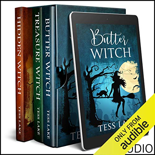 Torrent Witches Cozy Mysteries, Box Set 1 audiobook cover art
