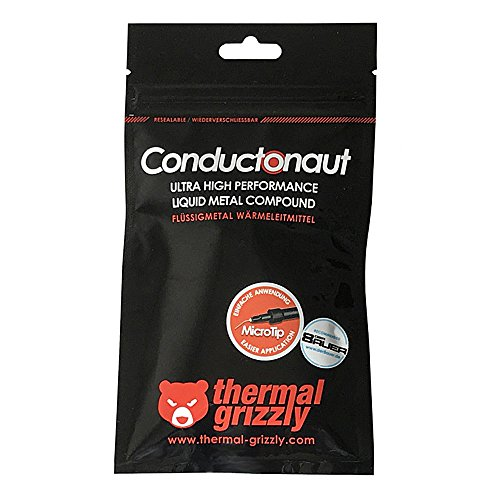 Thermal Grizzly Conductonaut Liquid Metal Thermal Paste, 1g