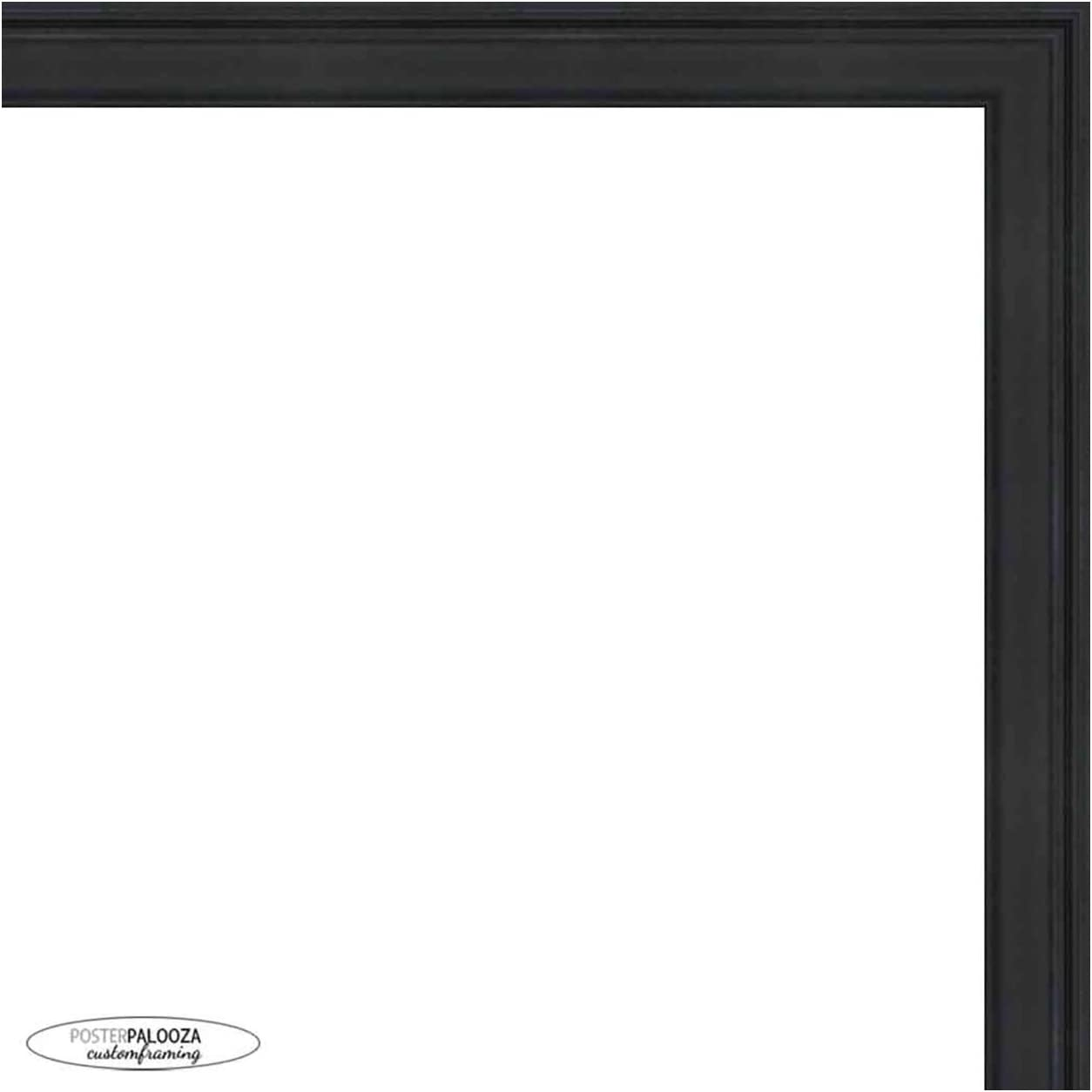 Poster Palooza 38x26 Traditional specialty shop 2021 model Black Wood Complete Fra Picture