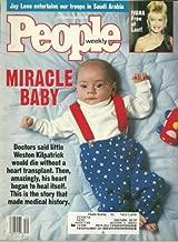 Miracle Baby Weston Kilpatrick, Ivana Trump, Jay Leno, Olivia Newton-John - December 24, 1990 People Weekly Magazine
