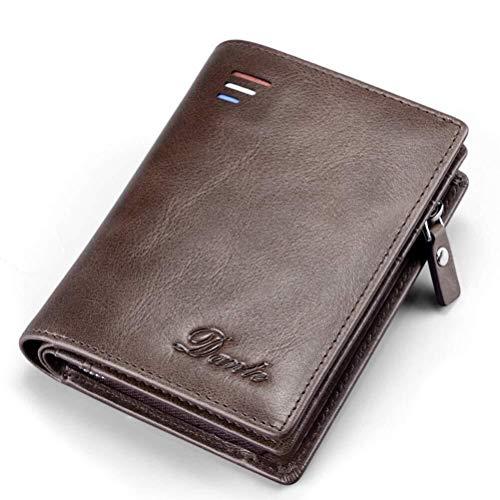 Herren Vintage Leder Wallet Zweiteilige 2-In-1 Clip mit abnehmbarem Wallet Box for Gentleman des Vaters Sehr freundlich für schwangere Frauen (Color : B)