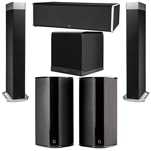 Best Deals! Definitive Technology 5.1 System with 2 BP9080X Tower Speakers, 1 CS9080 Center Channel ...