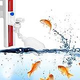 Zouminyy Válvula de Agua de Acuario Duradera, válvula de Agua automática de Altura de Nivel de Agua de 0.79 Pulgadas-5.91 Pulgadas, Familia de pescadería para