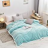 FRTU Mantas para Cubierta de la Cama,Milk Fleece Blankets, Thickened Winter Blankets,Bed Sheets Blankets, Air-Conditioning Blankets, Lunch Break Blankets-1_200*230