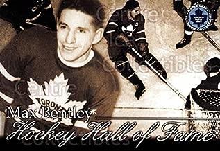(CI) Max Bentley Hockey Card 2002-03 Toronto Maple Leafs Platinum (base) 43 Max Bentley
