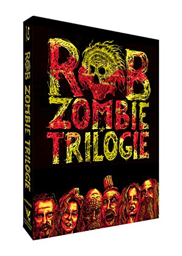 Coffret trilogie rob zombie : 3 from hell + the devil's rejects + la maison des 1000 morts [Blu-ray] [FR Import]