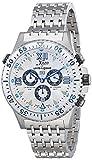 Xezo Men's Air Commando Swiss-Quartz Luxury Sport Chronograph Wrist Watches,...