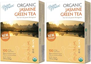 Prince of Peace Organic Jasmine Green Tea 100 tea bags (Pack of 2)
