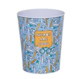 Vidal Regalos Nerds Are Cool - Cestino metallico per camera da letto, 24 cm, colore: blu