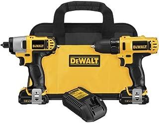 Dewalt DCK211S2R 12-volt MAX Cordless Lithium-Ion Drill Driver and Impact Driver Combo Kit (Renewed)
