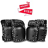 Dark Lightning Knee Pads for Kids/Toddler/Youth...