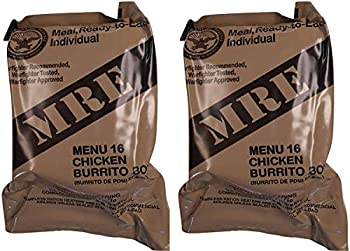 MREs  Meals Ready-to-Eat  Genuine U.S Military Surplus Assorted Flavor  2-Pack