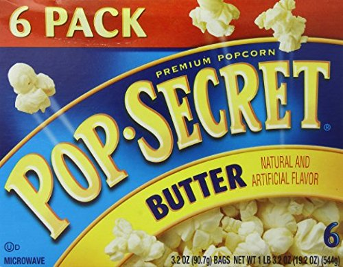 Max 50% OFF Pop-Secret Popcorn Butter 3.2oz 6-Count Package of boxes New product!! wi 2