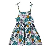 Skirted Leotard Hawaiian Dresses 60s Skirts Infant Girl Size Khaki Gown 60 Skirts red Flower Girl Dresses Cheongsam Dress for Girls up Little(White,130)
