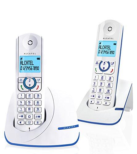 Alcatel F390 Duo Schnurlostelefonset mit 2 Hörern