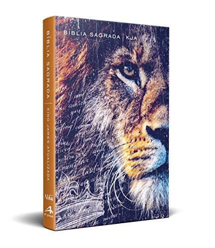 Bíblia King James Kja - Slim - Leão Metade da Face