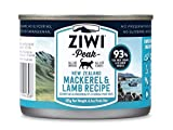 Ziwipeak Zpccm0185C-Us Cat Mackerel Lamb Pet Food, 6.5 Oz