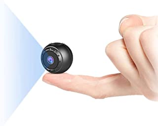 Mini Camara Espia Oculta, MHDYT 1080P HD Mini Camaras Espias Grabadora de Video Portátil con IR Visión Nocturna Detector d...