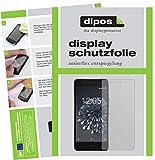 dipos I 2X Schutzfolie matt kompatibel mit BQ Aquaris X5 Folie Bildschirmschutzfolie