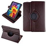 """COOVY® 2.0 Funda para Samsung Galaxy Tab 3 10.1 GT-P5200 GT-P5210 GT-P5220 Smart 360º Grados Rotaciã""""N Cover Case Protectora Soporte Auto Sueño/Estela   marrón"""
