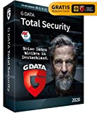 G DATA Total Security 2020, 1 Gerät - 1 Jahr, DVD-ROM inkl. Webcam-Cover, Virenschutz Windows, Mac, Android, iOS, Made in Germany