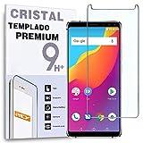 REY Protector de Pantalla para ALLCALL S1, Cristal Vidrio Templado Premium