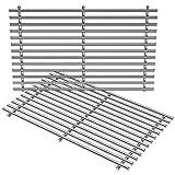 Stanbroil - Parrillas de cocina de acero inoxidable para Weber Summit 400 Series Summit E/S 450/440/460/470 con caja de ahumado, piezas de repuesto para Weber 67550 (2 unidades)