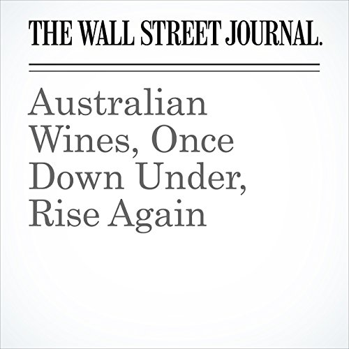 Australian Wines, Once Down Under, Rise Again audiobook cover art