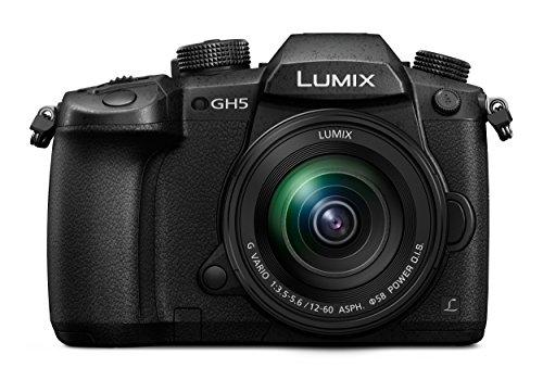 Panasonic Lumix DC-GH5EG-K Systeemcamera, 20 megapixels, Dual I.S. (beeldstabilisatie), 4k60p video-opnames, 4k en 6k resolutie, hybride autofocus, weerbestendige behuizing van magnesium, zwart