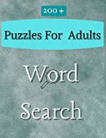 200 Word Search Puzzles for Adults