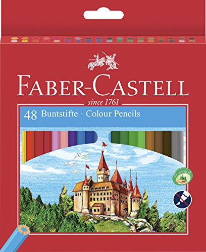 Faber-Castell Castle - Colored pencil (Wood, Multi), multicolor