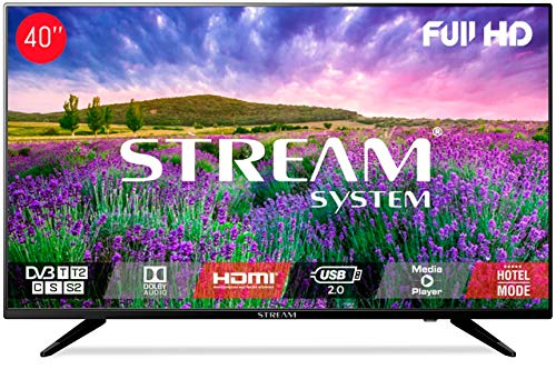 "Stream System BM40L81+ - TV LED 40"" Full HD, HDMI, USB, VGA"