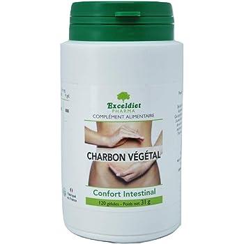 Charbon Végétal Active - 120 Gélules - Ballonnements et ...