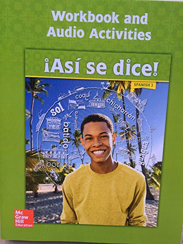 Asi se dice! Level 3, Workbook and Audio Activities (SPANISH)