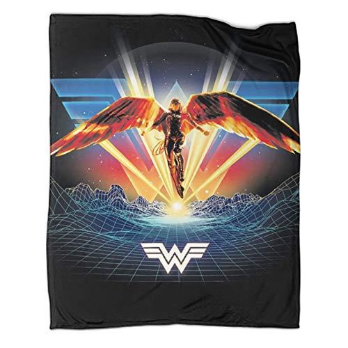 Xaviera Doherty Wonder Woman 1984 Movie leichte Reisedecke, 100 x 130 cm, weiche und bequeme Bettdecke, Kinderbettwäsche