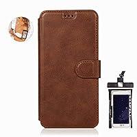 耐汚れ 耐摩擦 iPhone 11 ケース 手帳型 本革 レザー カバー 財布型 スタンド機能 カードポケット 耐摩擦 全面保護 人気 アイフォン[無料付防水ポーチケース]