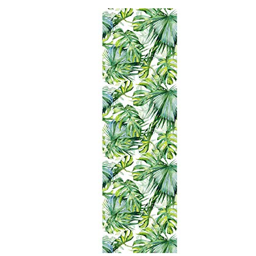 Papel pintado autoadhesivo papel de contacto Tung Palm Leaf DIY impermeable autoadhesivo decorativo papel pintado cocina encimera gabinetes cajón muebles pared 45x300cm