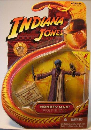 Indiana Jones Action Figure: Monkey Man with Monkey