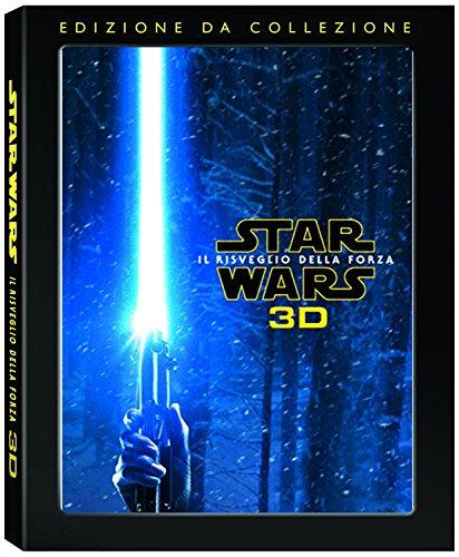 star wars il risveglio della forza (blu ray 2d + blu ray 3d + disco bonus) (blu-ray 3d) [Italia] [Blu-ray]