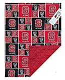 Future Tailgater NC State Wolfpack Licensed Minky Blanket Throw (36' x 28')